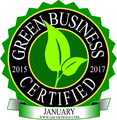 Green Business Large Badge